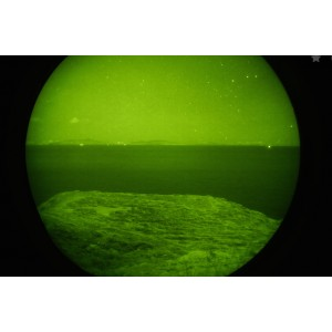 Photos obtenues à l'aide d'une jumelle de vision nocturne de type 64/72lp génération 3