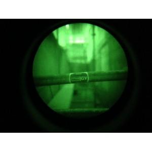 réglage du focus sur une jumelle de vision nocturne